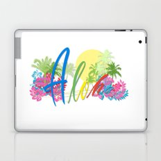 Aloha Tropical Hawaii Decor Laptop & iPad Skin