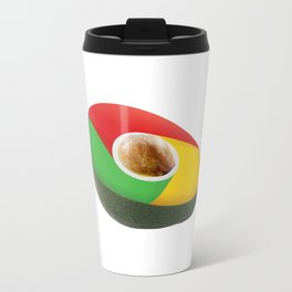 Browser Avacado Travel Mug