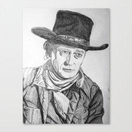 """""""The Duke"""" Canvas Print"""