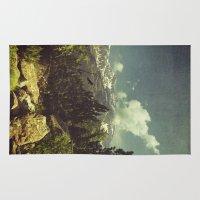 italian Area & Throw Rugs featuring Italian Mountains by Dirk Wuestenhagen Imagery