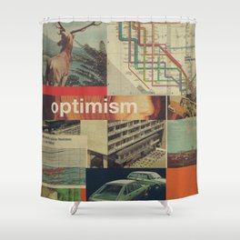 Optimism178 Shower Curtain