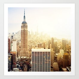 Empire State in New York Art Print