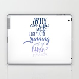 Running out of time | Hamilton Laptop & iPad Skin