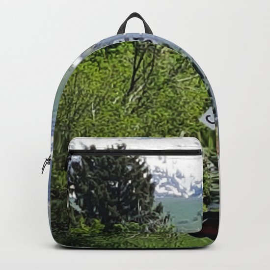 Shakespeare Expectation Quote Backpack