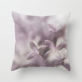 Silky Throw Pillow