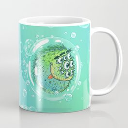 Bacillus B0b on bubble-transport Coffee Mug