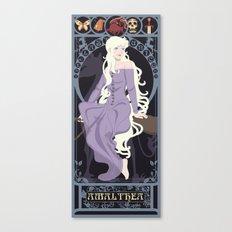 Amalthea Nouveau - The Last Unicorn Canvas Print