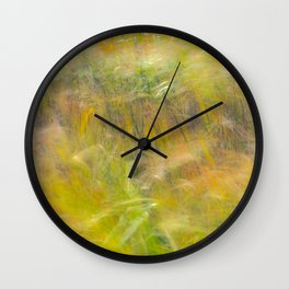Autumn Breezes 2 Wall Clock