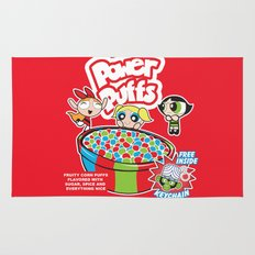 Power Puffs Cereal Rug