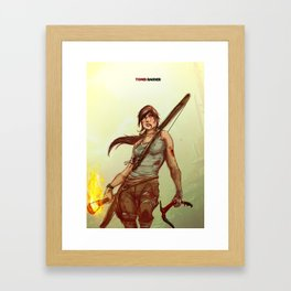 Tomb Raider Framed Art Print