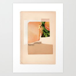 ultimately the cohesion of all  Art Print