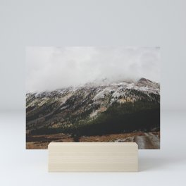 Snowcapped Mountains Mini Art Print