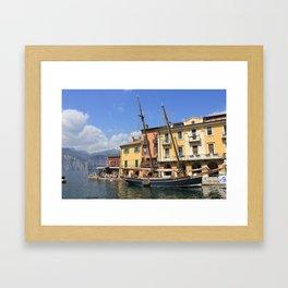 Lake Garda Italy  Framed Art Print
