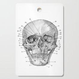 Anatomical Skull Cutting Board