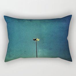 At the dark light Rectangular Pillow