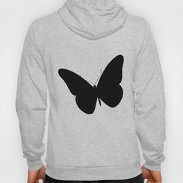 spring with butterfly flies Hoody