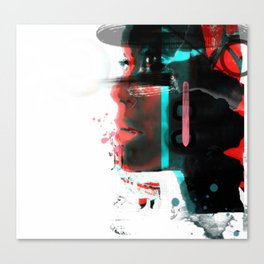 Motioned Canvas Print
