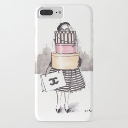 Shopping Junkie iPhone Case