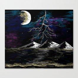 01 Lighting Storm Canvas Print