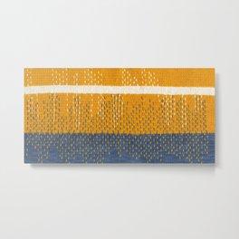 Yarns: Reflections Metal Print