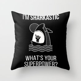 Sarcastic gifts for him Throw Pillow