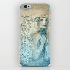 I must be a mermaid iPhone Skin
