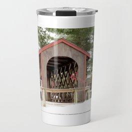 Photography Covered Bridge Travel Mug
