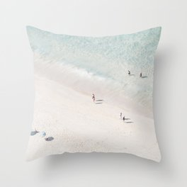 Beach Love 2  (part of a diptych) Throw Pillow