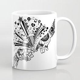 Creation of human Coffee Mug