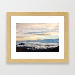 Haleakala Sunrise Pt. 3 Framed Art Print