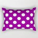 Polka Dots (White/Purple) by 10813apparel