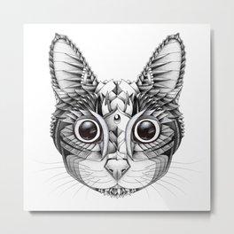 Infinity Eyes Metal Print