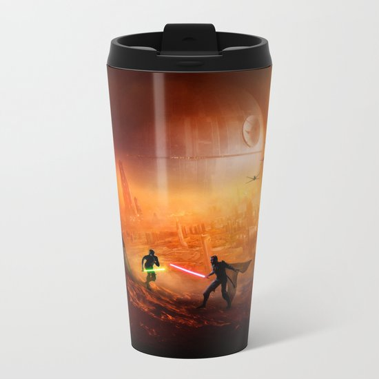 STAR . WARS Metal Travel Mug