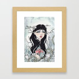 Sweet Sombre Framed Art Print
