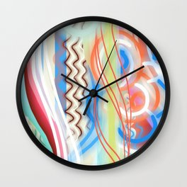 Cheerful Abstract Wall Clock