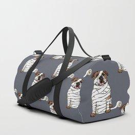 Mummy English Bulldog Duffle Bag