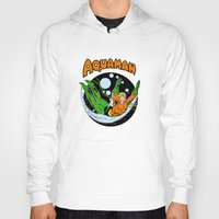 aquaman Hoodies featuring aquaman by Craig Bostick
