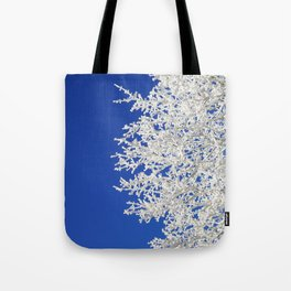 Frosty Tree Tote Bag