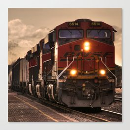Flagstaff Freight  Canvas Print