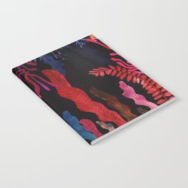 red nature Notebook
