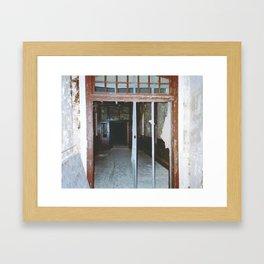 Danvers State Hospital Hallway Framed Art Print