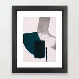 minimalist painting 02 Framed Art Print