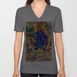 Matisse el Henri Unisex V-Ausschnitt