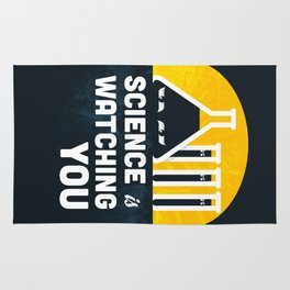 Science is Watching You Rug