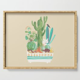 Desert planter Serving Tray