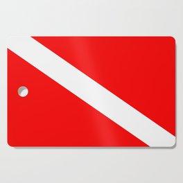 Diver Down Flag Cutting Board