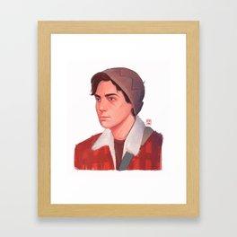 Jughead (Riverdale) Framed Art Print