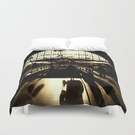 Railway Station Cologne (monochrom) Duvet Cover