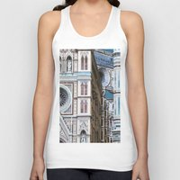florence Tank Tops featuring Florence  by Chernyshova Daryna