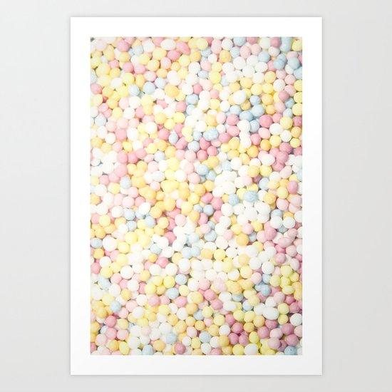 Sugar Sprinkles Art Print